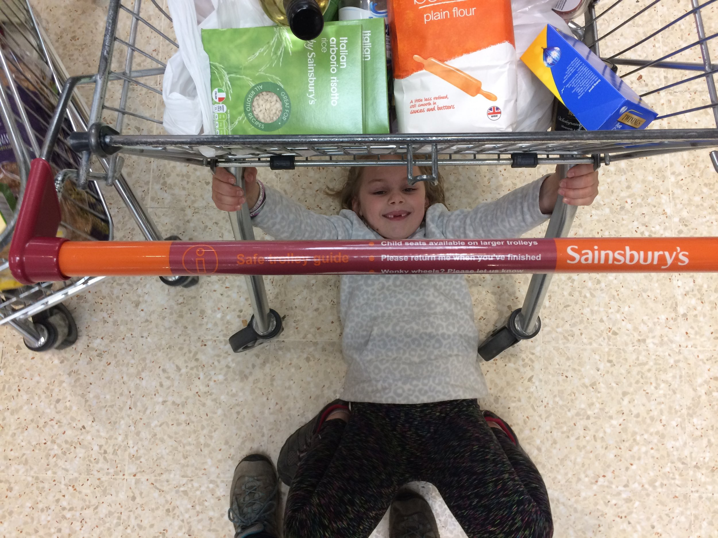 ok this is sainsbury's but just the same....a touch of crazy in the grocery store.