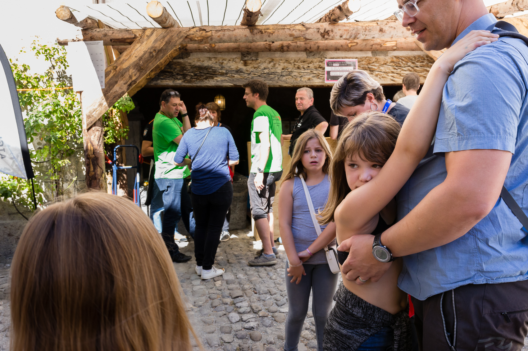 it was SO hot, the day, and so fun to see what was happening at every turn at the castle and festival meant just for children. Here the experience of childhood elevated reminds us that play is at the centre of it all.