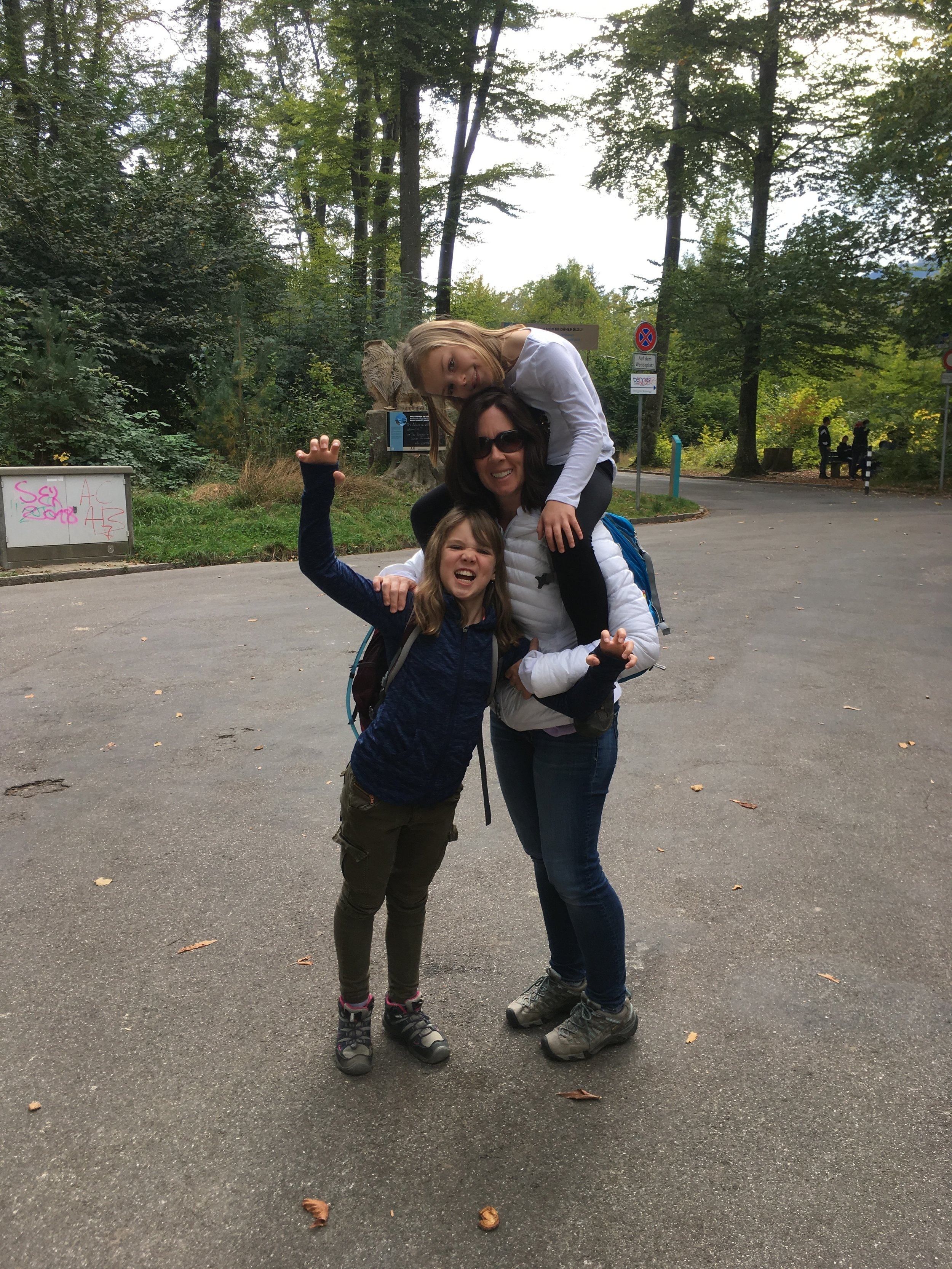 7 years ago I have the big one on my shoulders and the little one snuggled in the ergo carrier…dreaming of a time where we made this move together as a family - who knew that the time would come and one kid would still be making me the proverbial packhorse?