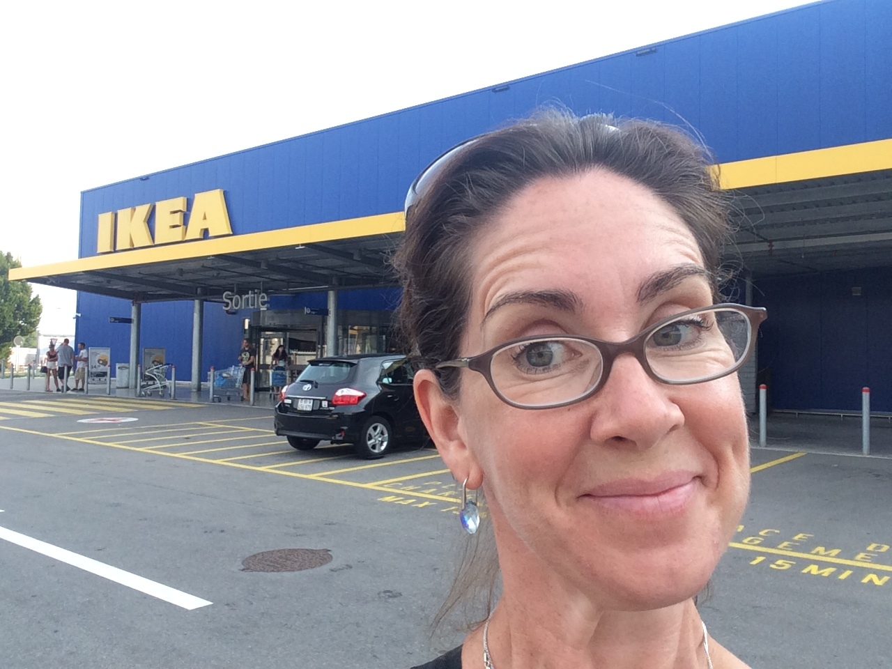 IKEA Switzerland - on my way to furnish an apartment!