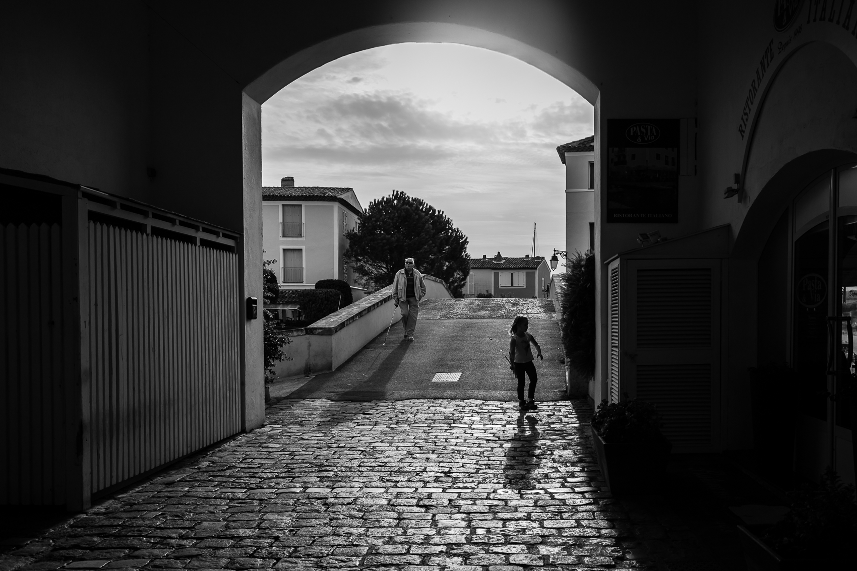 on a little walk about in a village…my kids are now the normal walking along streets exploring while getting to and from where they need to go!