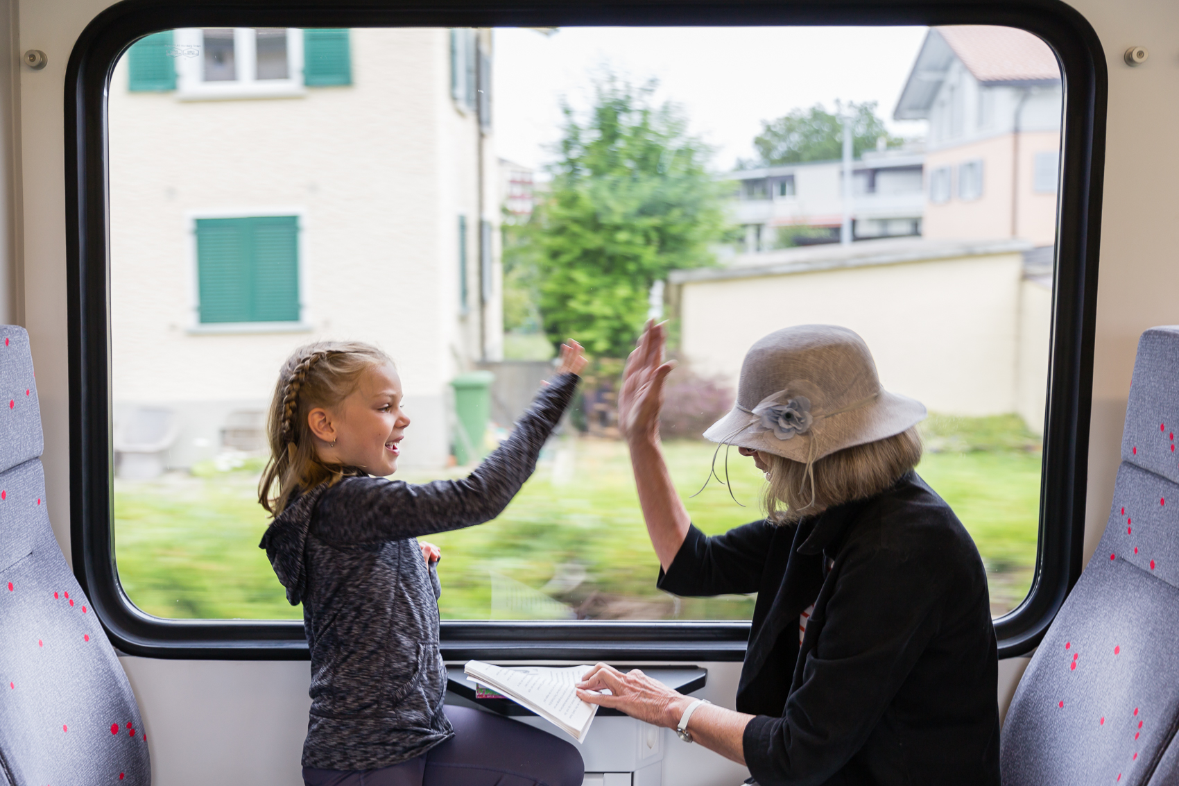 high five we have got this!