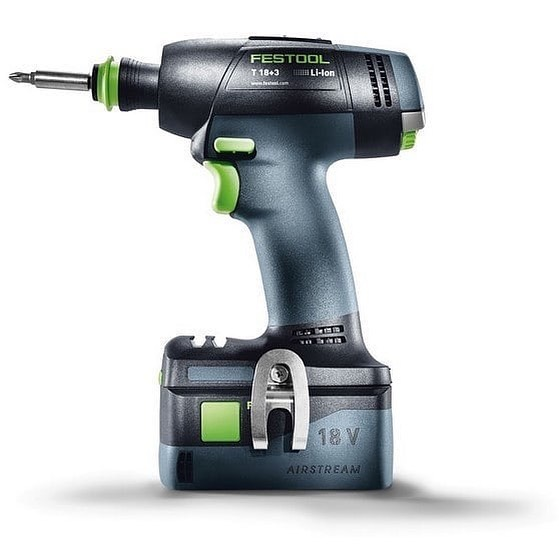 Check out @angliatoolcentre post Festool 575597 T18 Compact Drill Driver w/ 2x Li-ion Batteries in Systainer - only £249 exc vat! 🔥