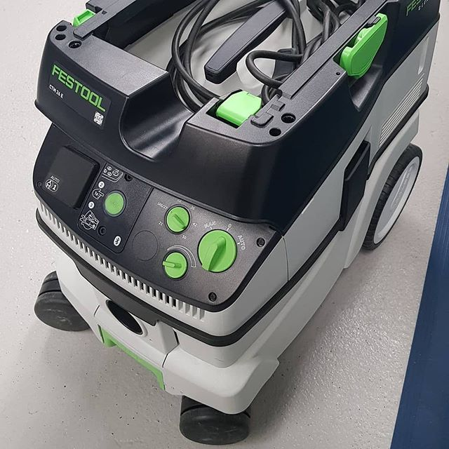 Check out @atc_oldbury post  One for you Festool fans 😎Festool  CTM 26E 240v Dust extractor manufacturers bluetooth enabled (limited version). Ex display/demo reduced to clear, full 3 year warranty box instructions & complete with all accessories pictured. £637.50 + vat £765.00 inc + claim £100.00 cash back with Festool promotion  For more details visit or contact the store on ☎️0121 558 9855 Mon-Fri 8-5pm Sat 8-12pm #festool #clearence #dustextraction #extractor #bluetooth #exdisplay #demo @festooltalkgroup