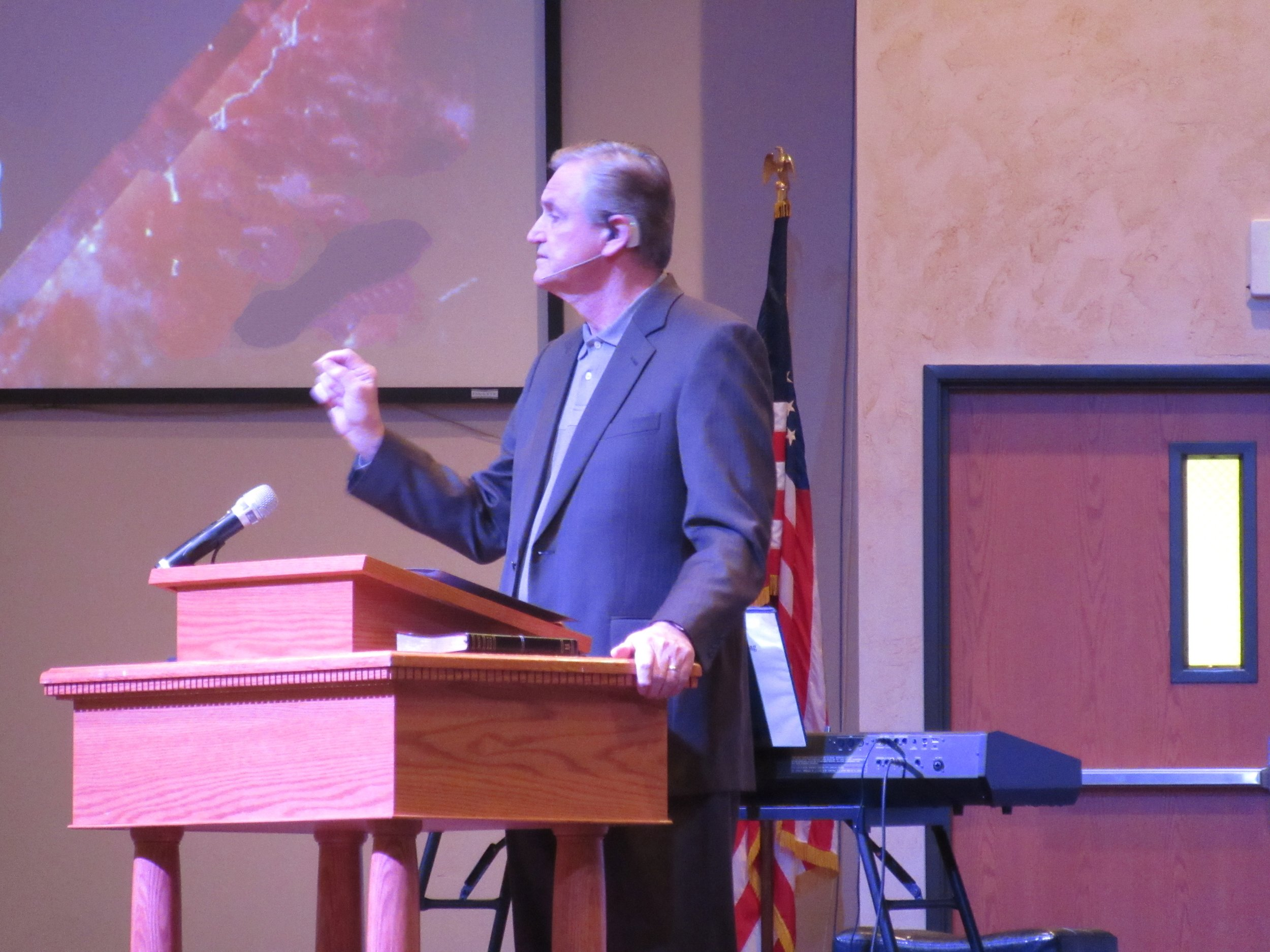Sr. Pastor Russ Hines - CLICK HERE FOR SERMONS