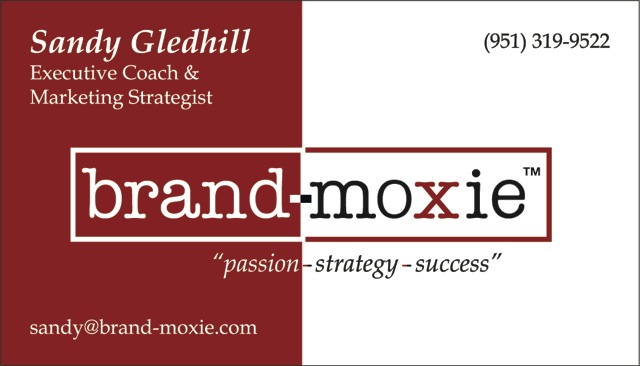 Business Card / front - Executive Coach