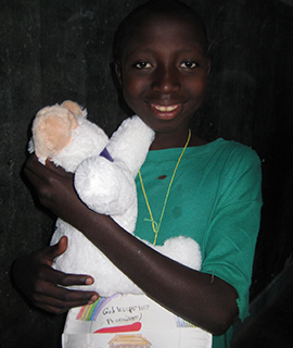 Lambs of Love make their way to orphans in Uganda.