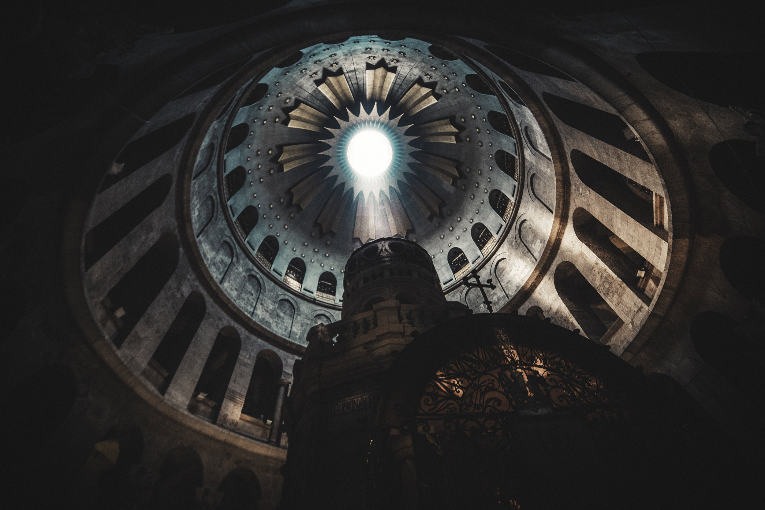 Tomb of Christ - The Church of the Holy Sepulchre