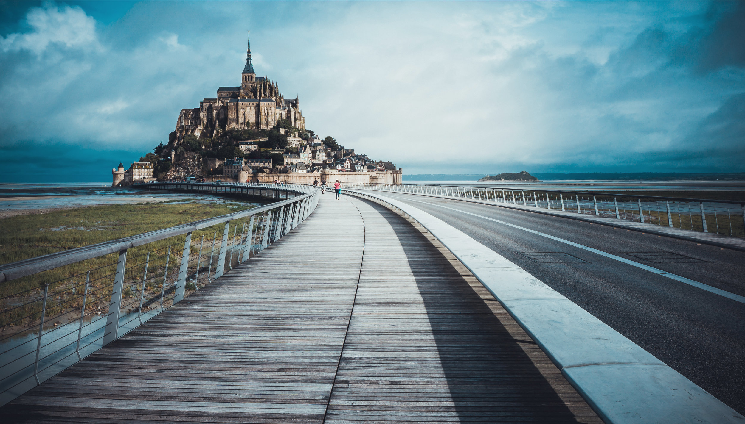 Mont Saint Michele, Normandy, France - Apply soon for Pilgrim Project France, Aug 9-18, to visit this incredible place!