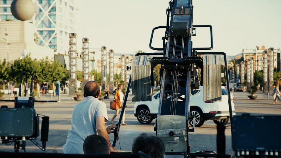 Seat Created in Barcelona crane shot