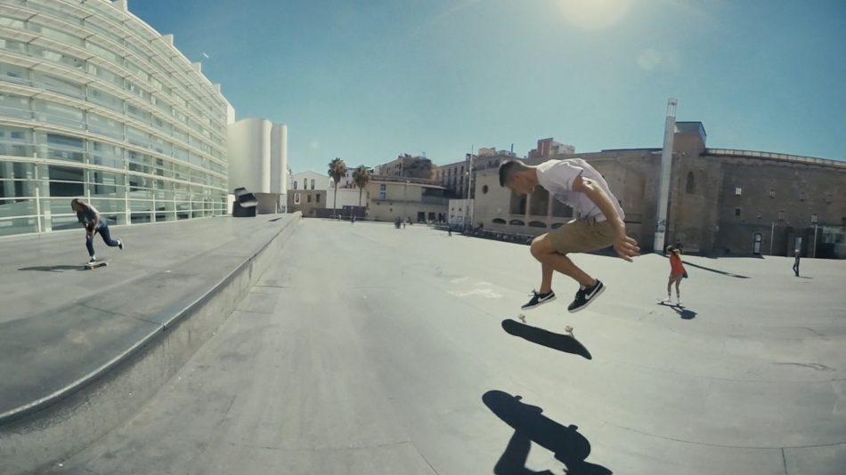 Seat Created in Barcelona Macba Skater
