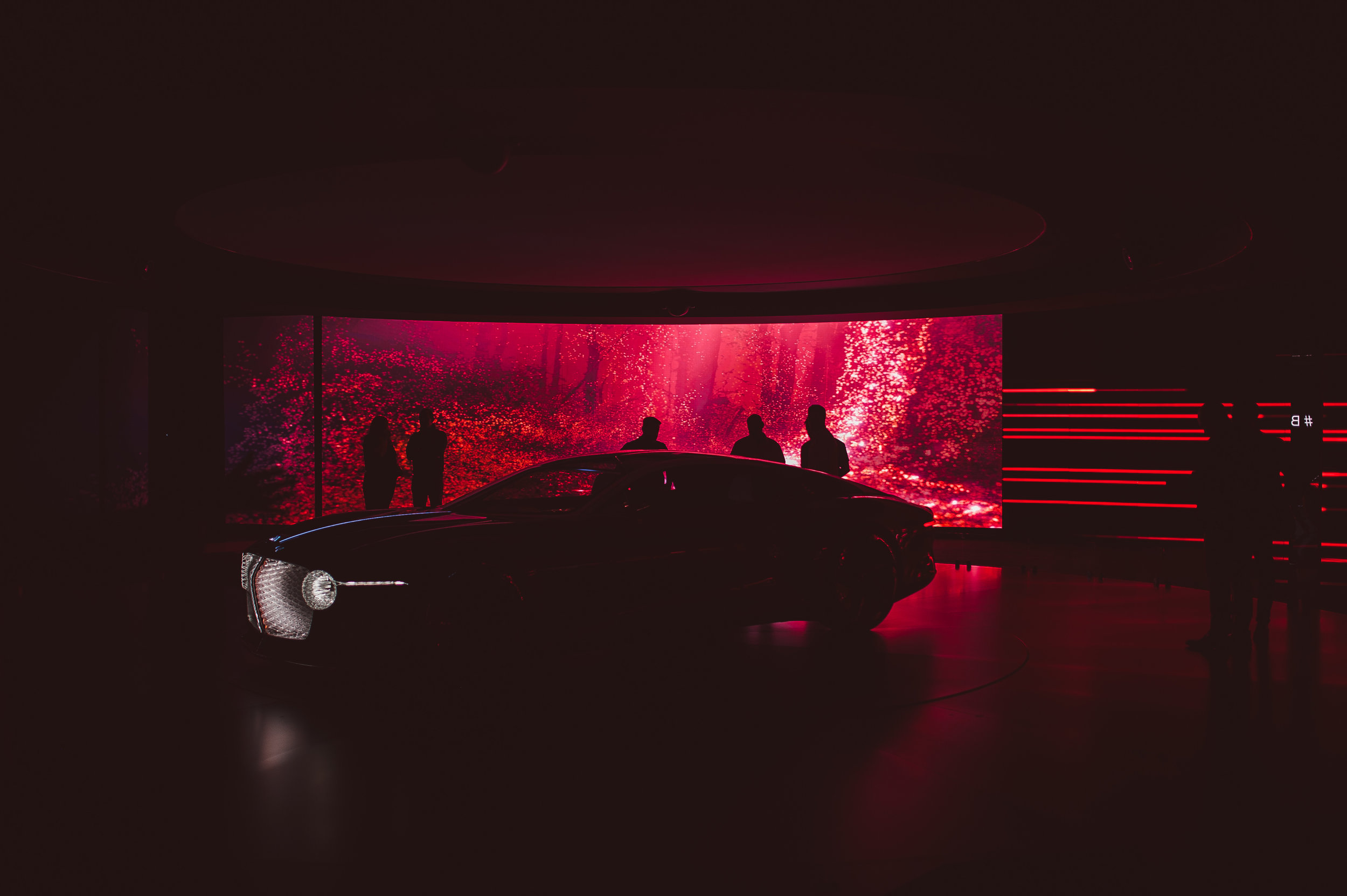 Bentley 100 GT Content producer
