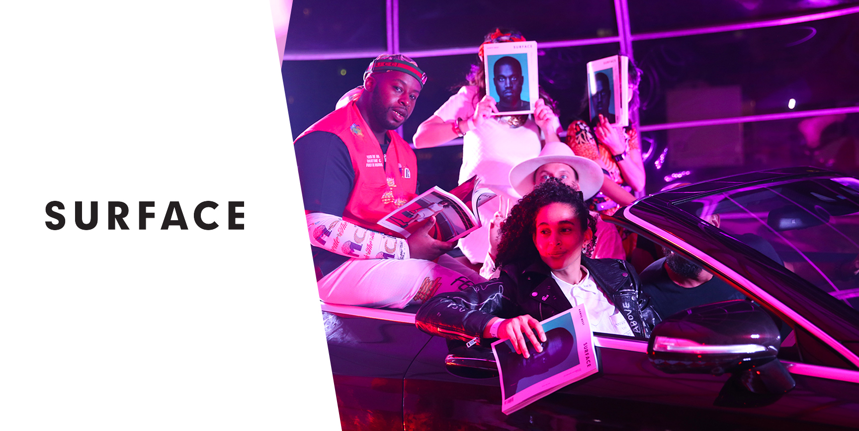 SURFACE MAGAZINE at Miami Art Basel - In partnership with the 10th Anniversary of a 21c hosted pajama-after-party at Palm Court.