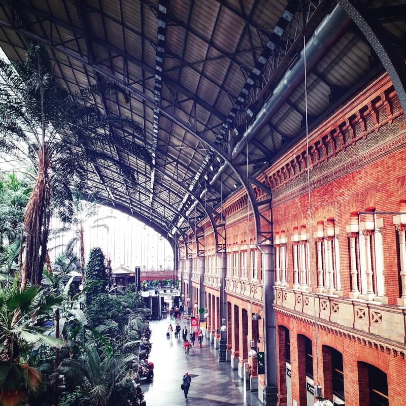 Atocha Renfe Station, Madrid