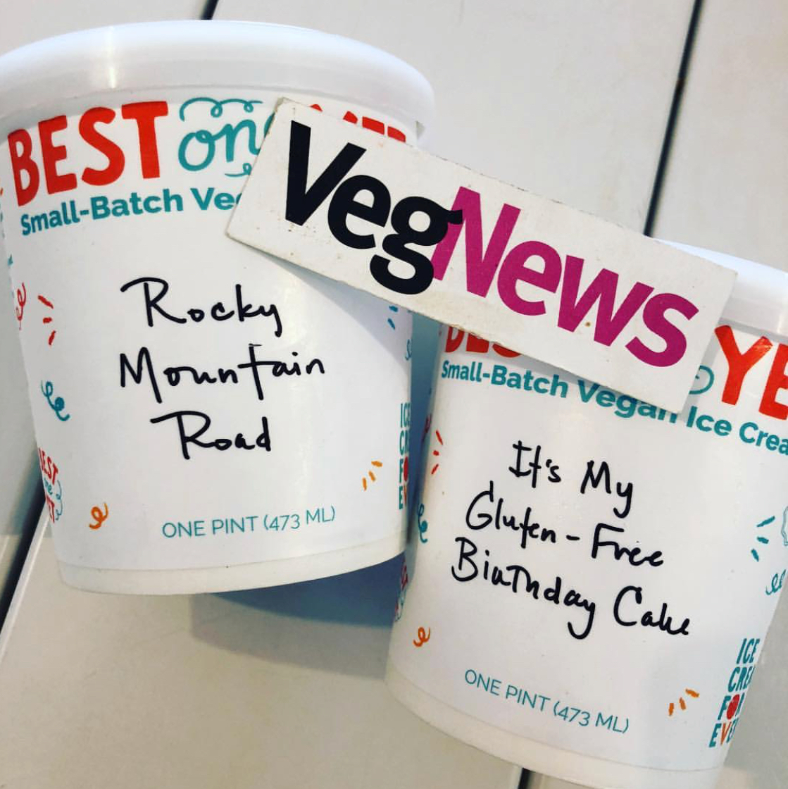VegNews - VegNews checked out our new pint packaging!