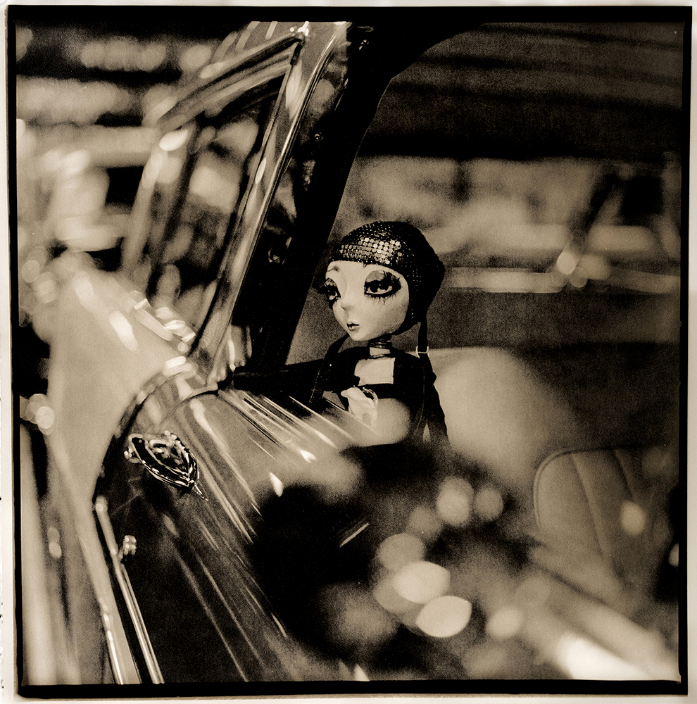 Neverdoll    ©KatarzynaDerda,from series Neverdoll, photograph #3,lith print, Chicago 2014, unique,edition of 1