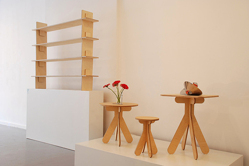 Design Mai 2007 exhibition at Appel Gallery Berlin