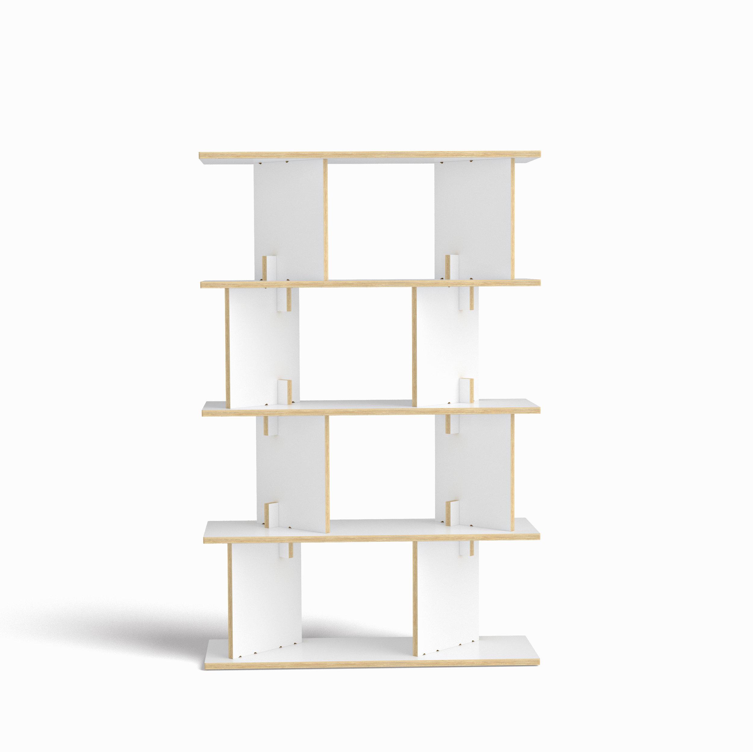 FIT_Neubau 95cm 5x30_ White_Front.jpg