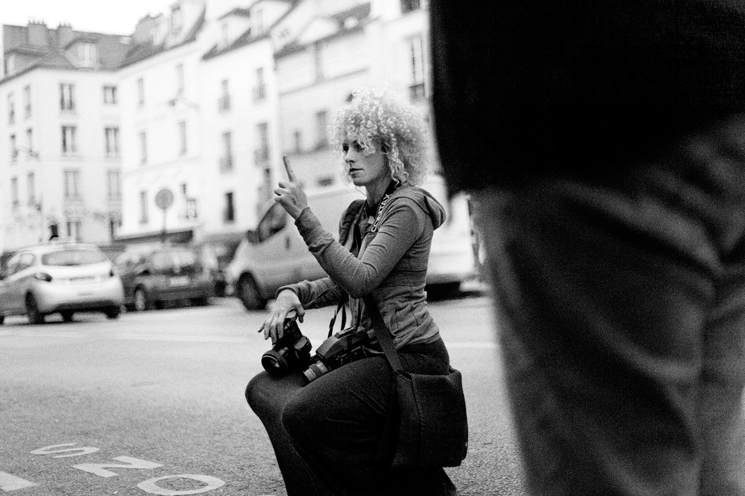 Photo by a French guy named Tom who attended my Paris photography class.