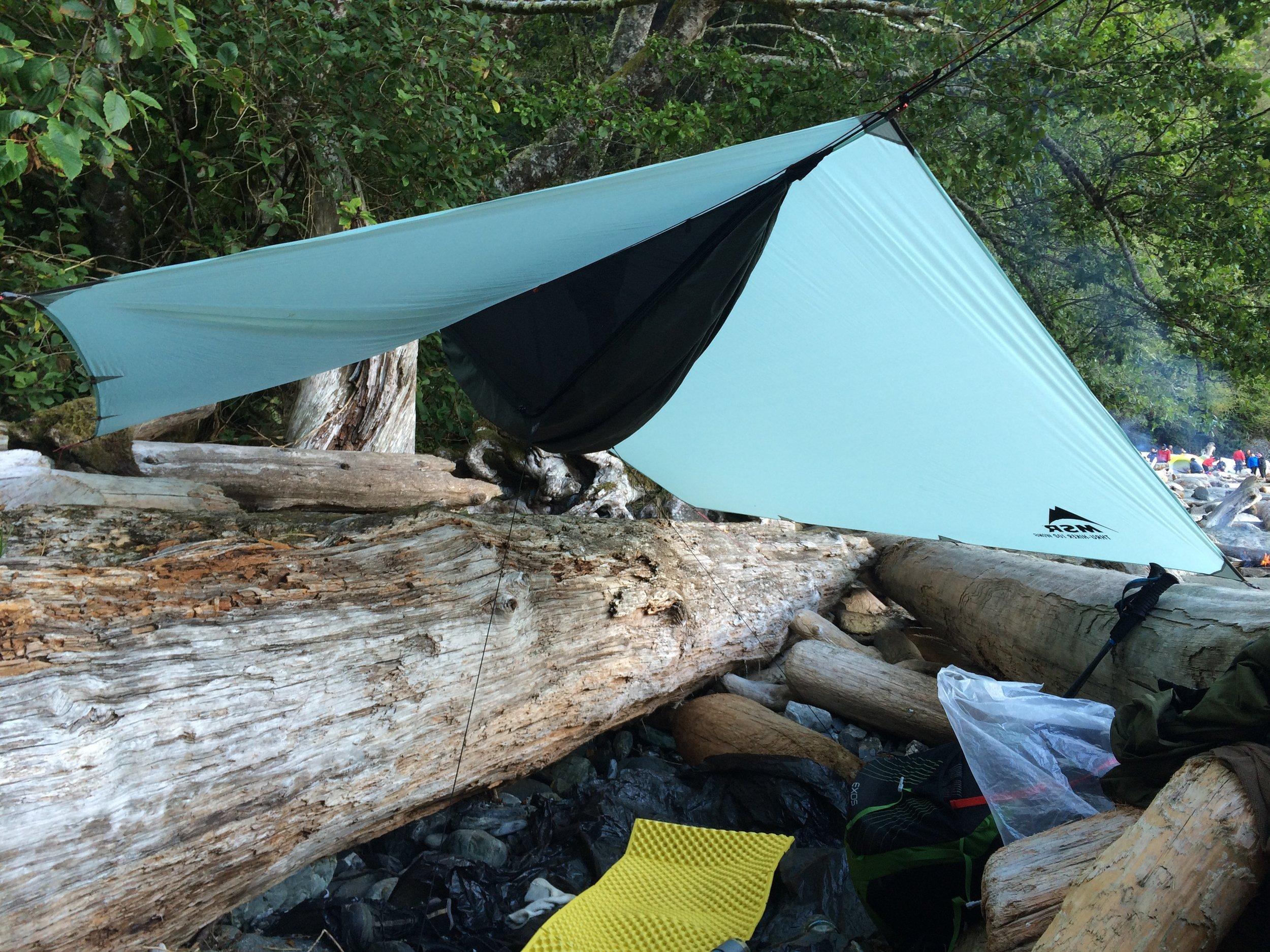 Thrasher Cove Campsite