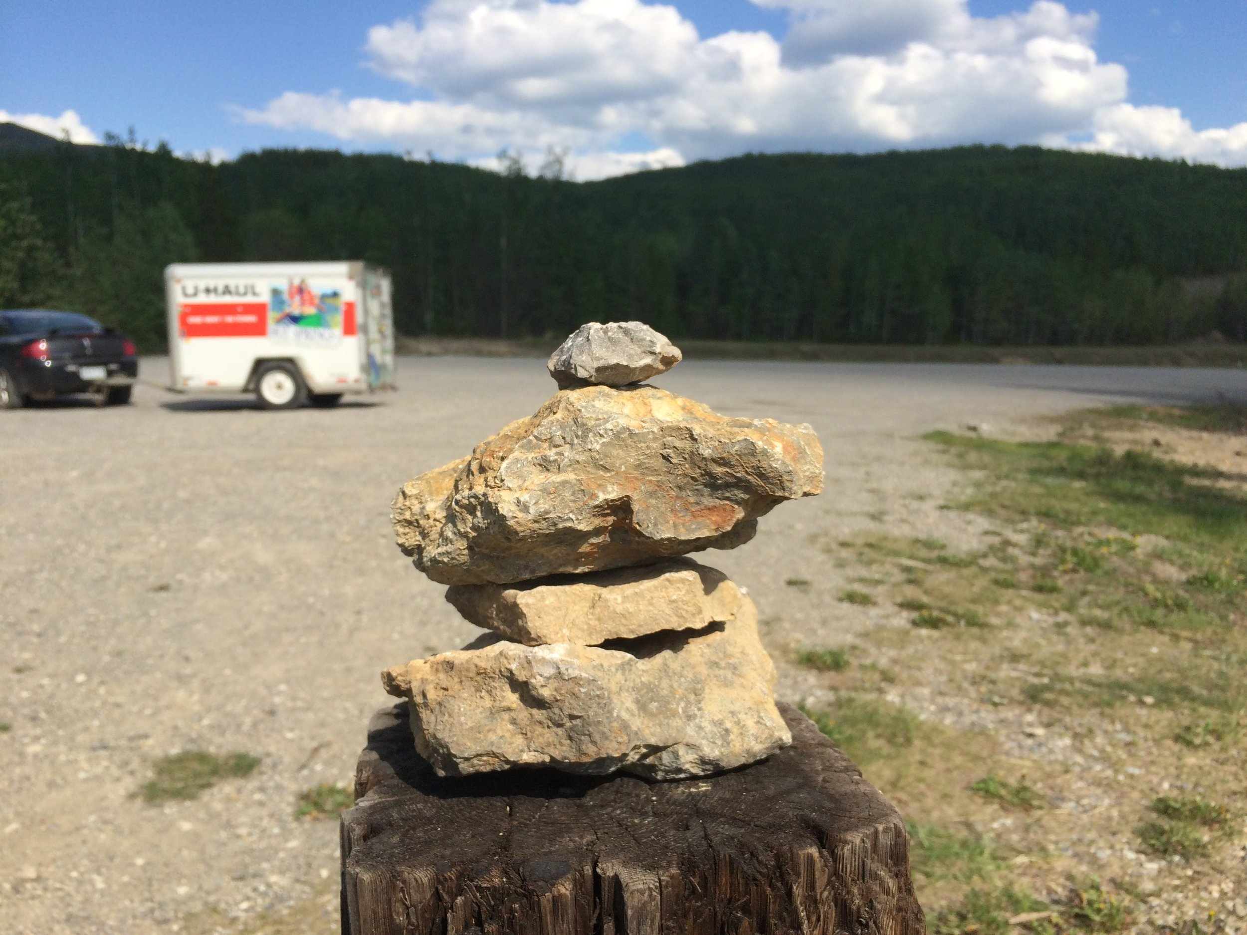Inuksuks are found all over northern Canada. I saw them from Ontario to the Yukon.