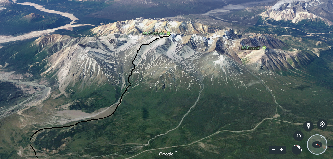 mt archibald overview route 3D.png
