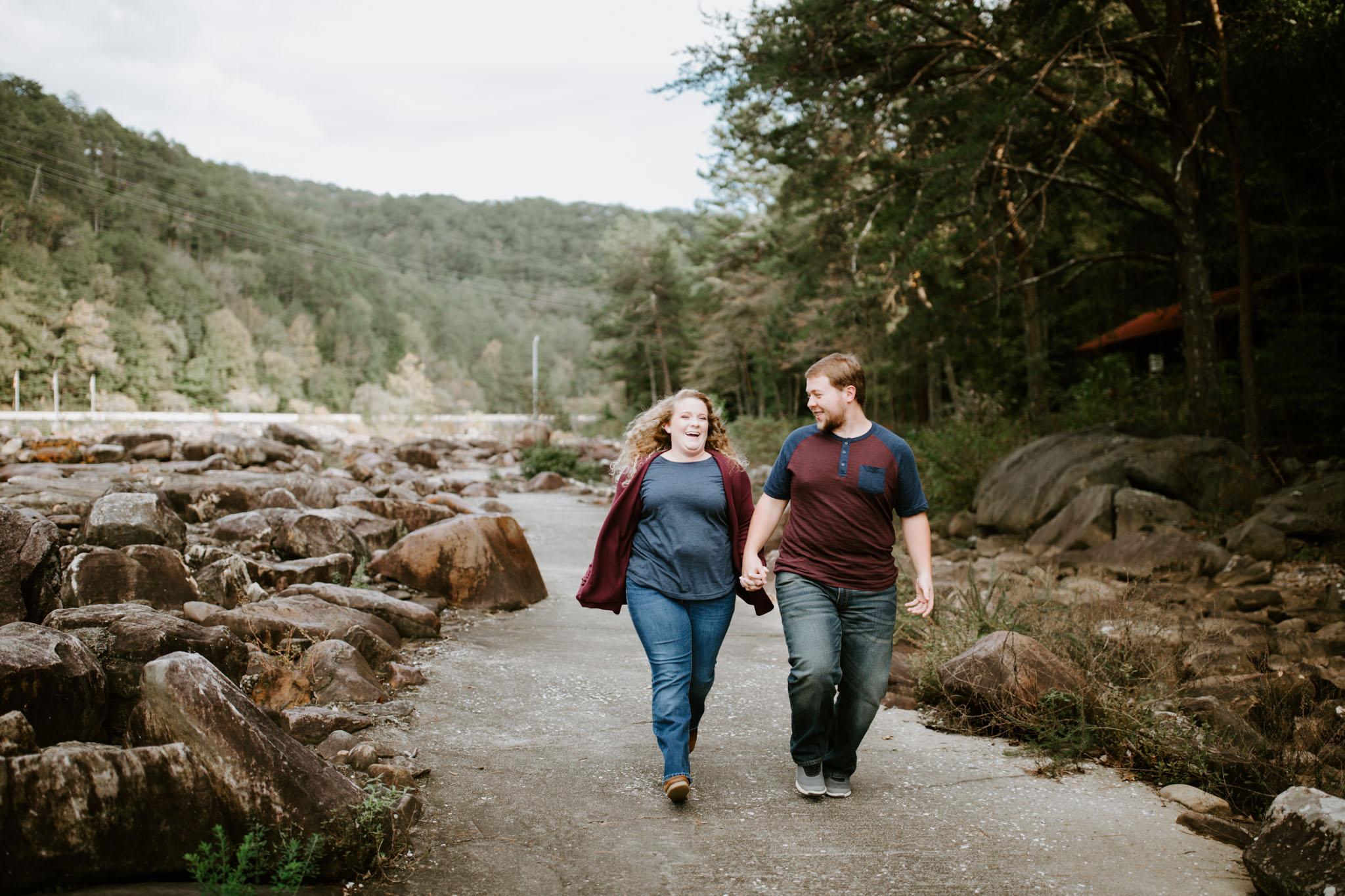 Kaitlin + Blake + Chattanooga + Tennessee + Engagement + Ocoee River + Wedding + Photographer-22.jpg