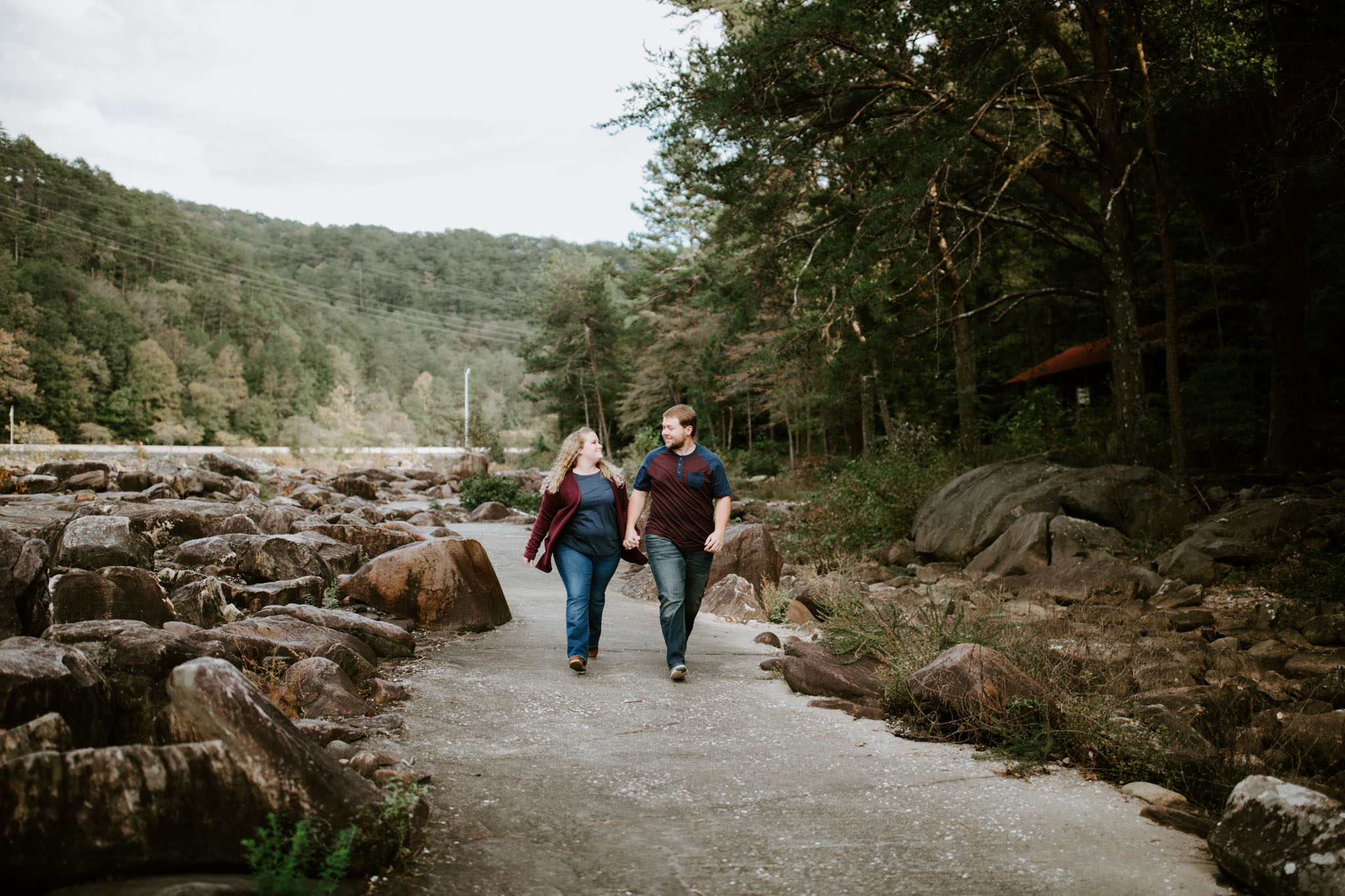 Kaitlin + Blake + Chattanooga + Tennessee + Engagement + Ocoee River + Wedding + Photographer-23.jpg