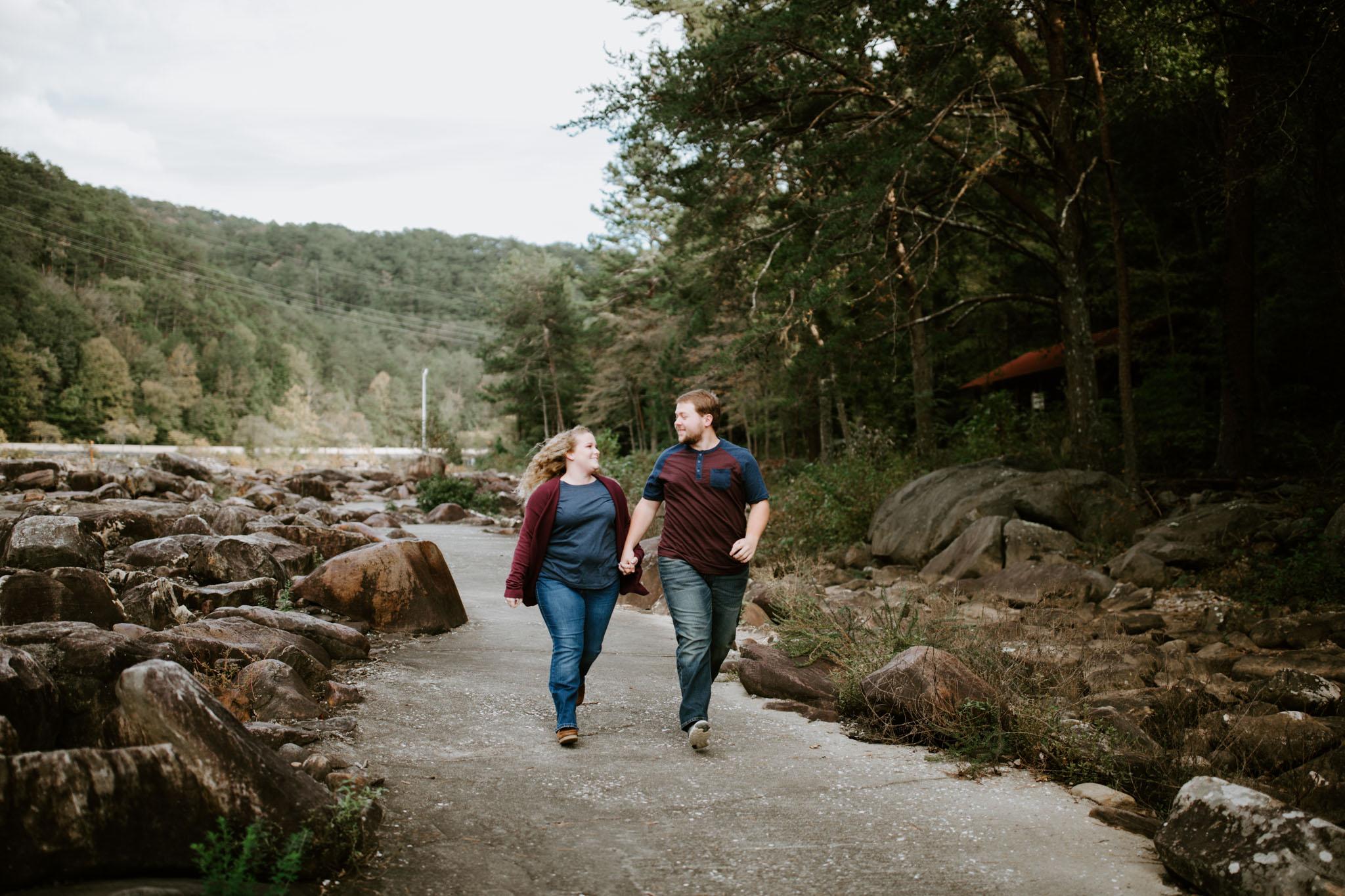 Kaitlin + Blake + Chattanooga + Tennessee + Engagement + Ocoee River + Wedding + Photographer-24.jpg