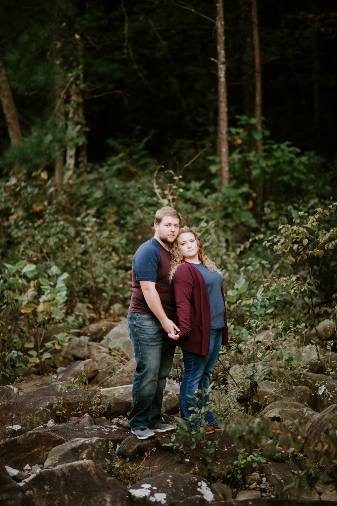 Kaitlin + Blake + Chattanooga + Tennessee + Engagement + Ocoee River + Wedding + Photographer-54.jpg