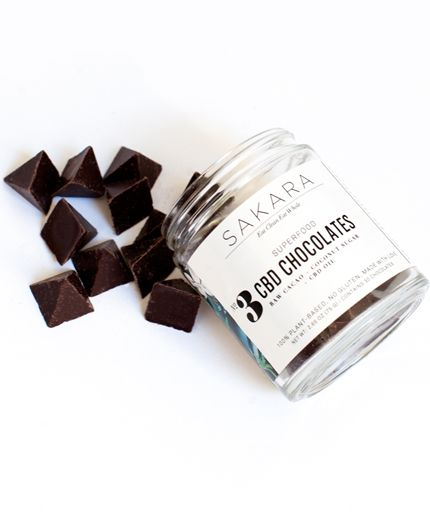 Sakara Life CBD Chocolate