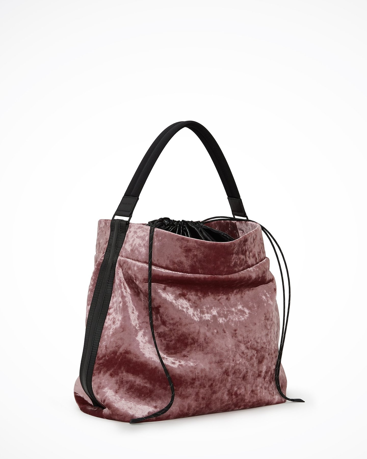 Transience Rose Velvet Bag