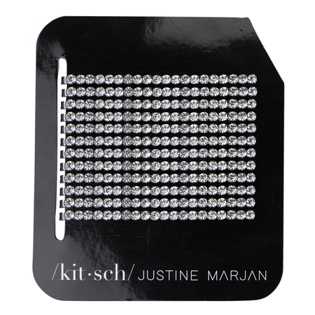 Justine Marjan x Kitsch Rhinestone Bobby Pins