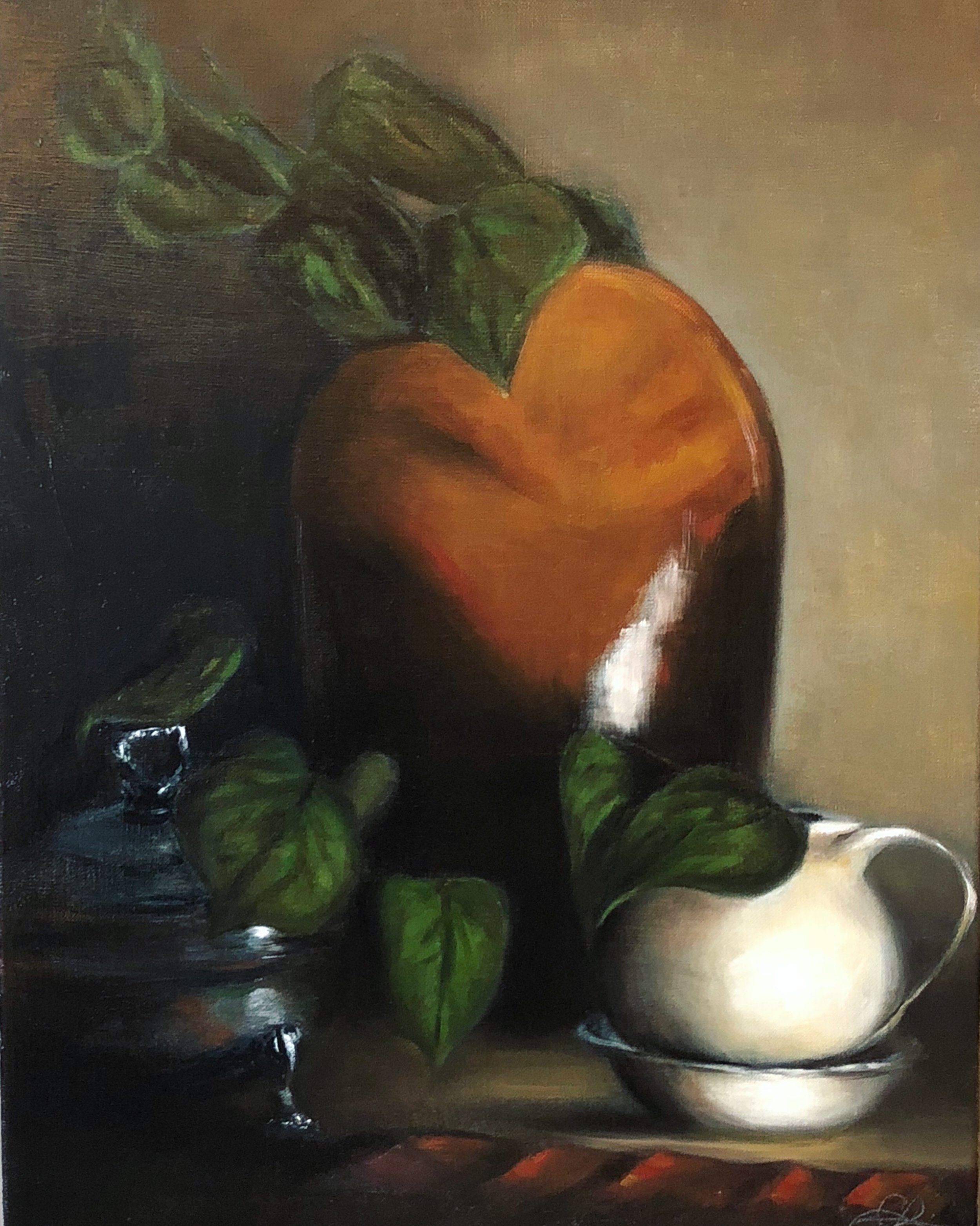 """Still Life""   $600  Oil on Canvas  16"" X 20"""