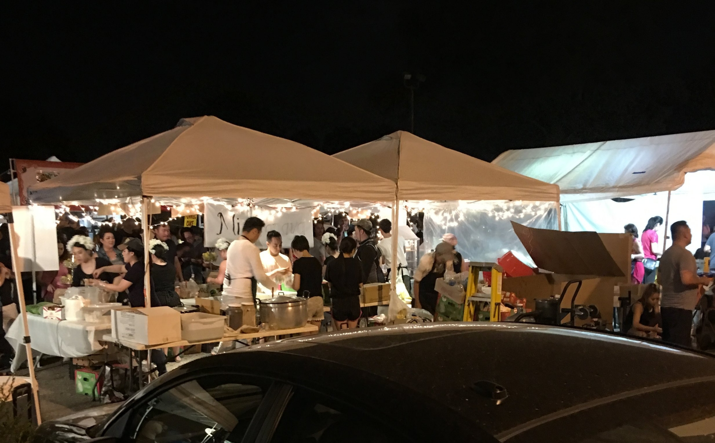 A small sampling of the dozens of delicious food vendors.