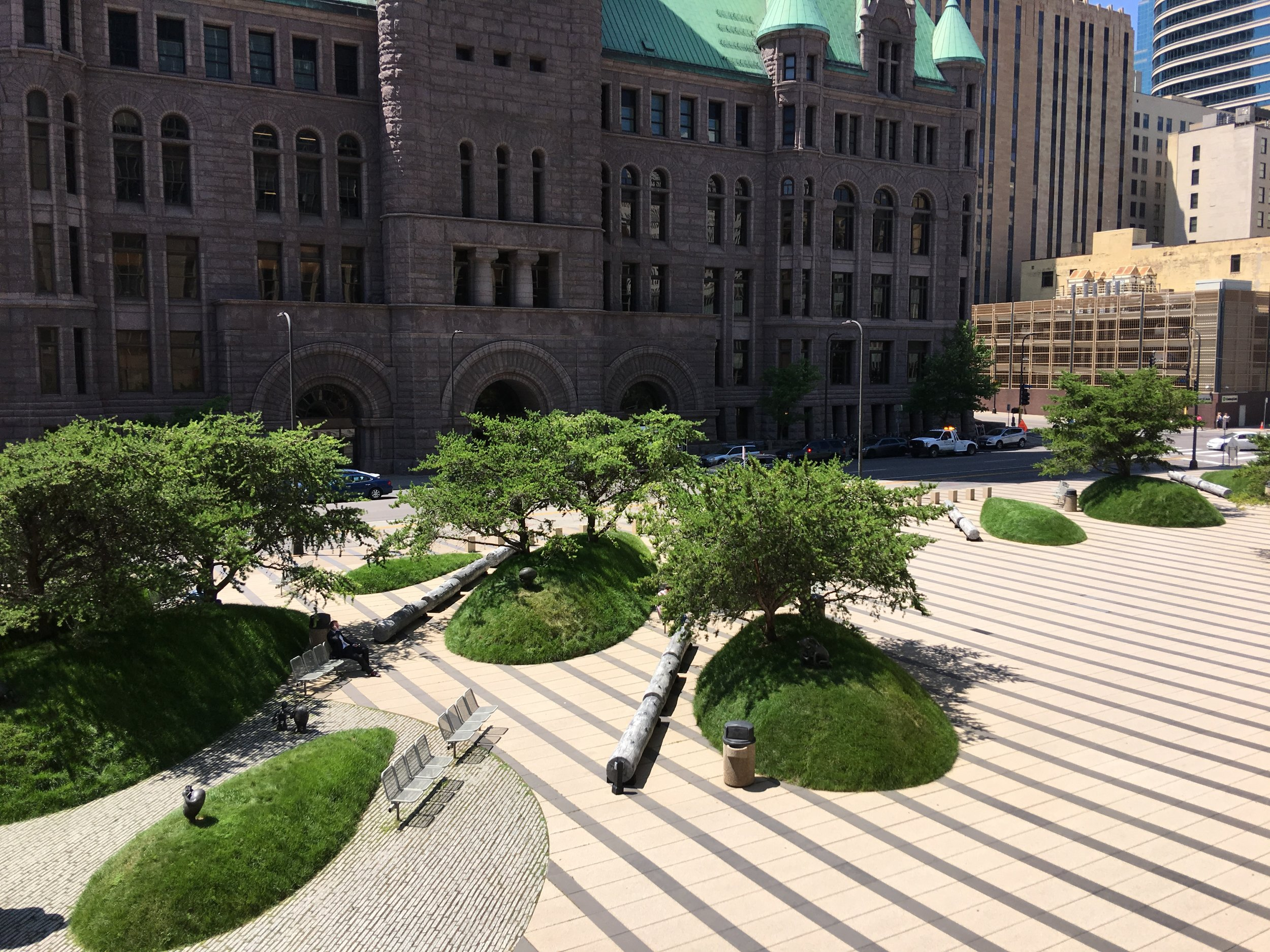 Federal Courthouse Plaza, Minneapolis, MN.