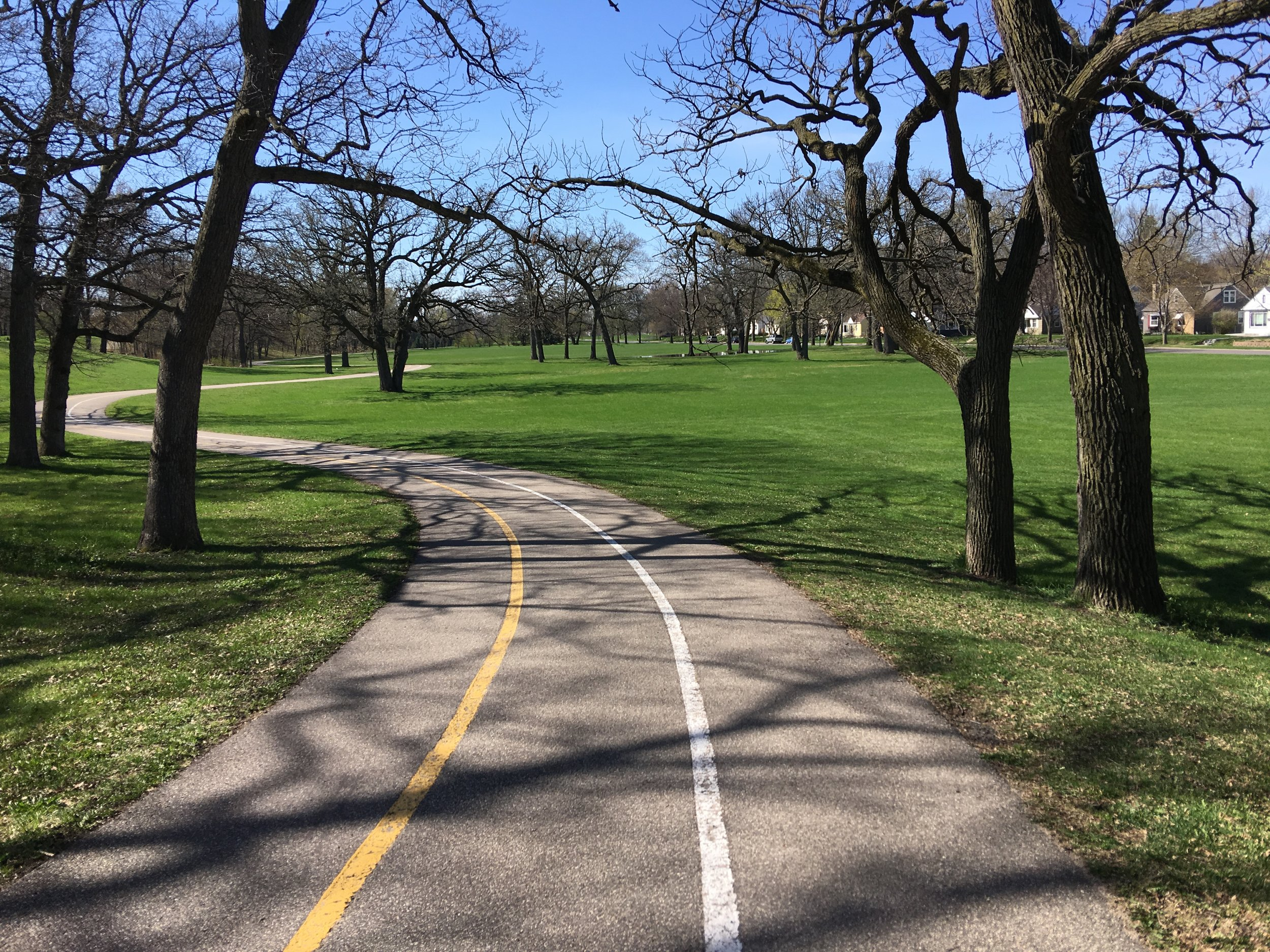 Part of the Grand Rounds park system that runs through North Minneapolis