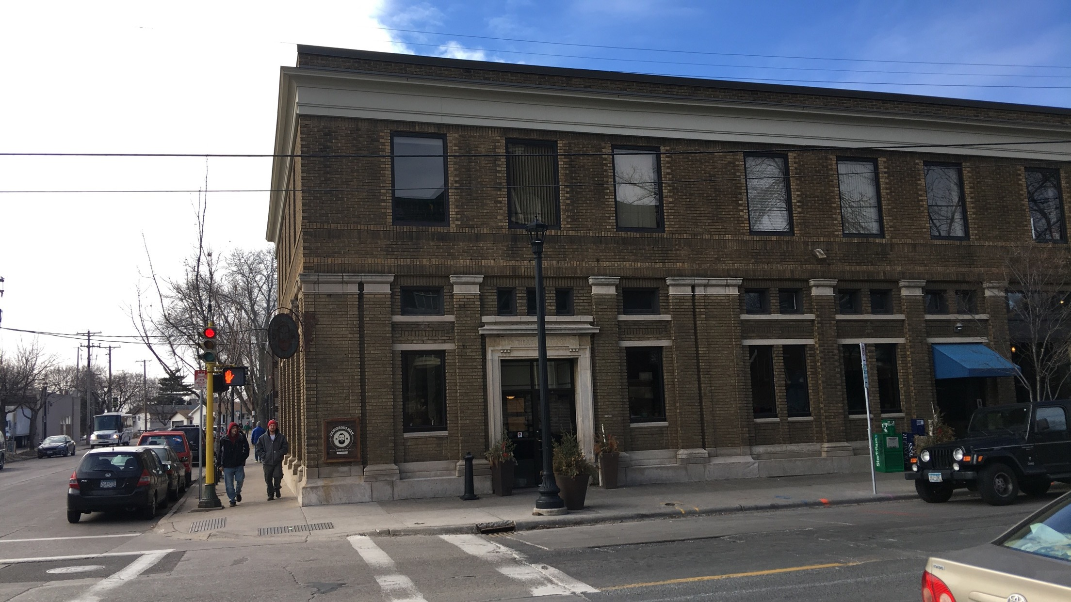 Dangerous Man Brewing, giving new life to an old bank building in Northeast