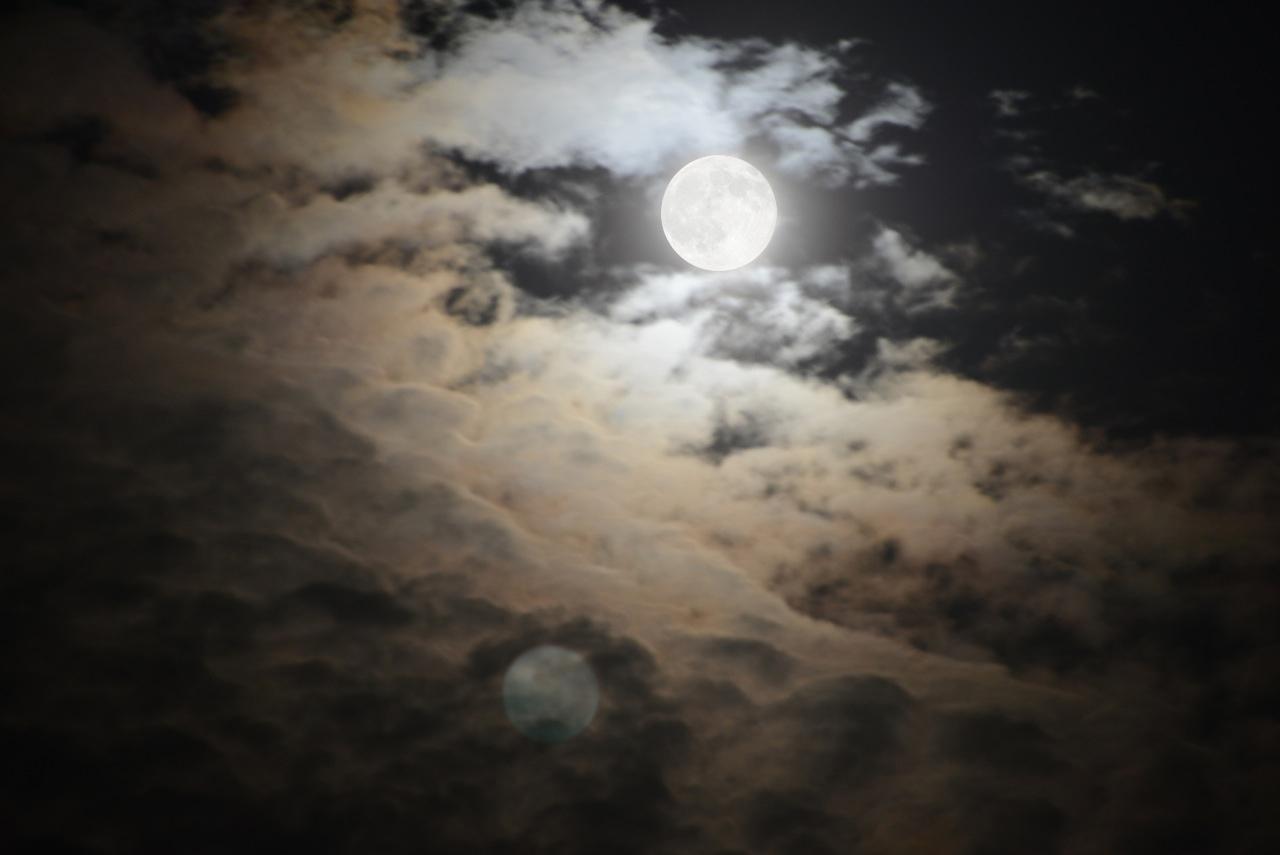 Lee Deigaard,  Moons Adore , dye-sublimation prints on aluminum, 2014/8