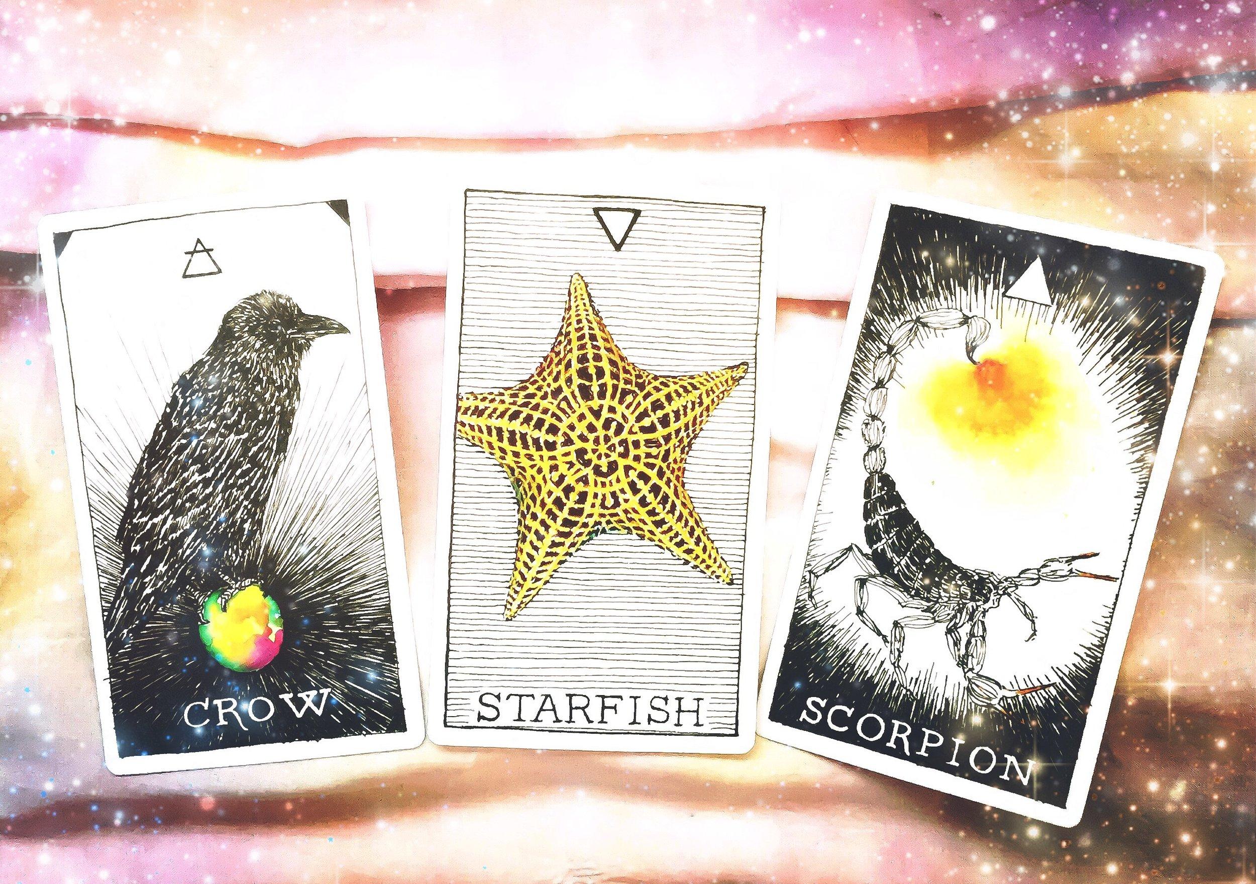 Spirit Animal cards for APRIL