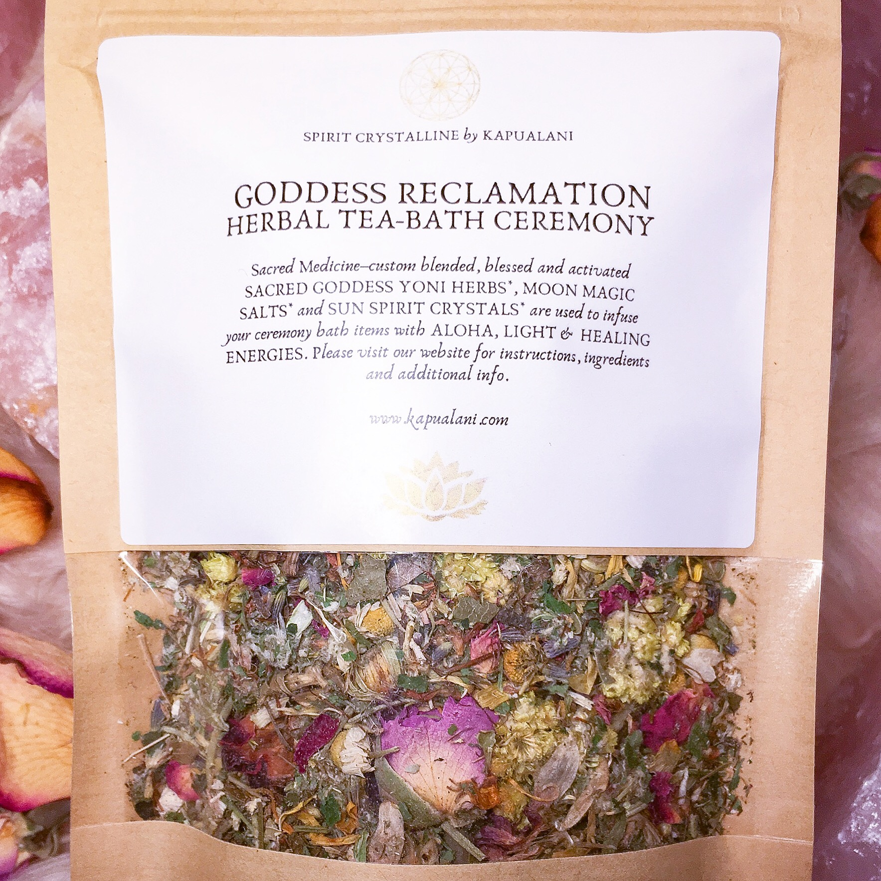 Goddess Reclamation Ceremony Kit