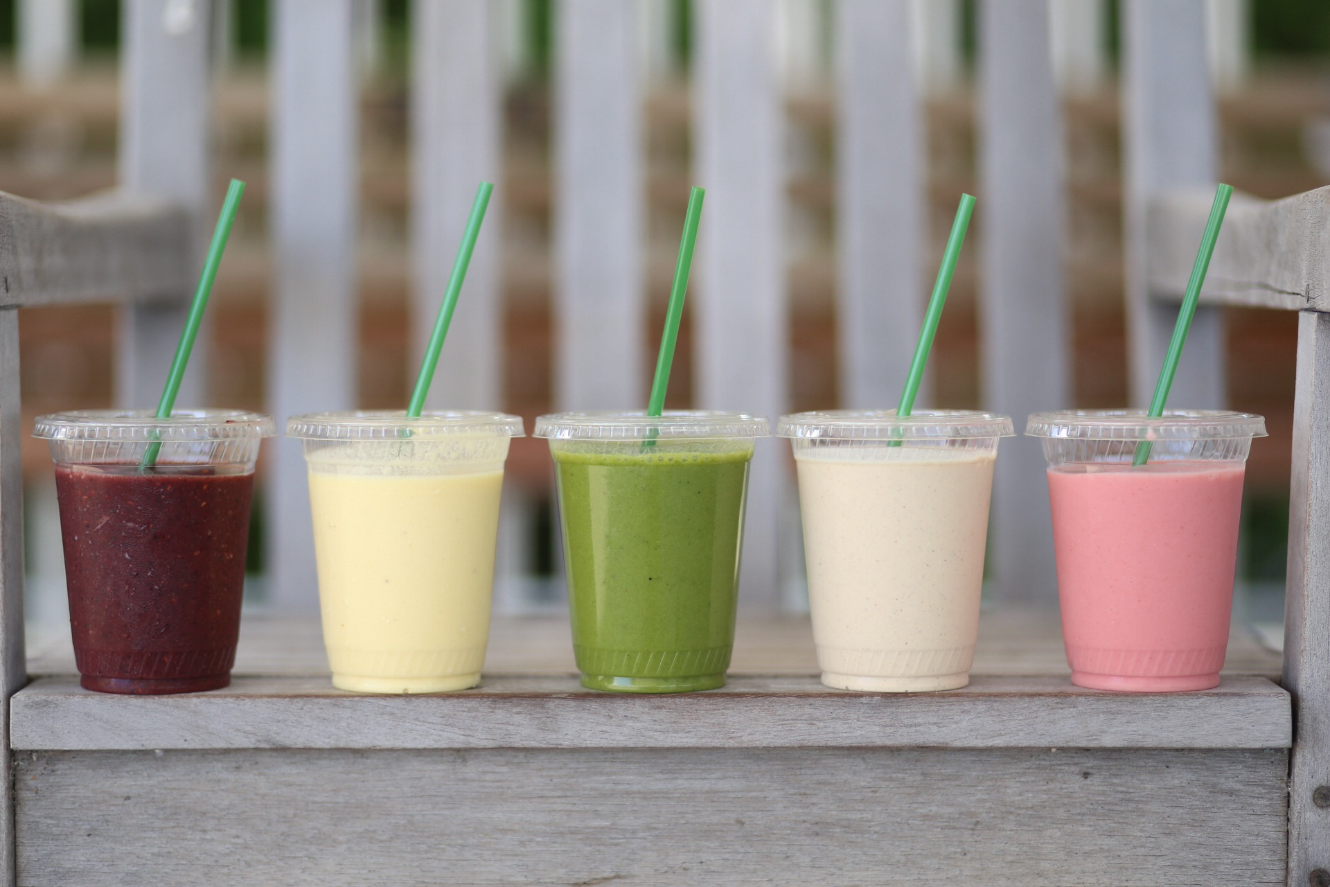 All our smoothies are made with authenticity which means no preservatives, no dyes of any kind, and REAL fruit.