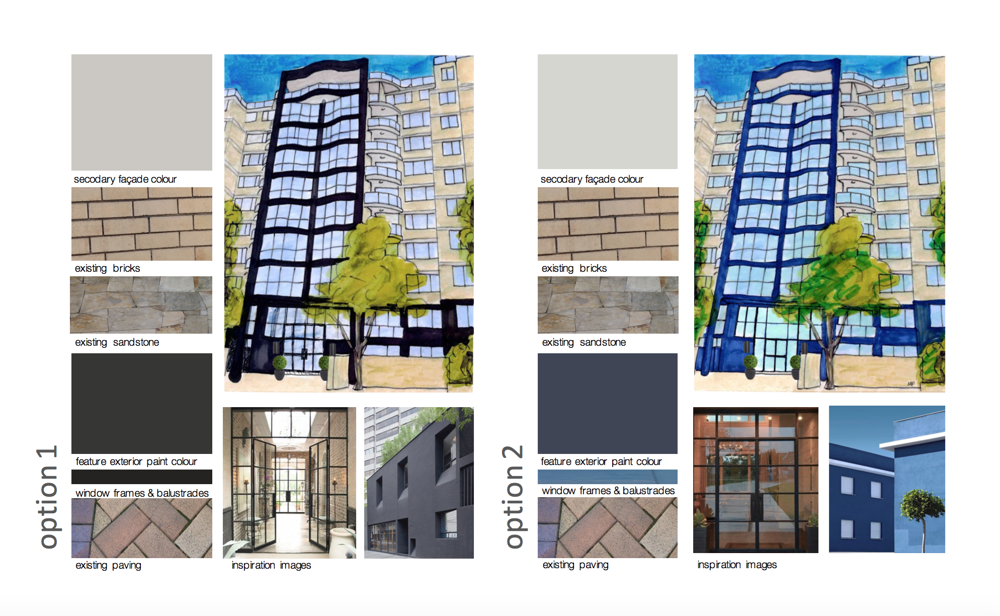 Marnee Fox Multi Residential redesign concept exterior