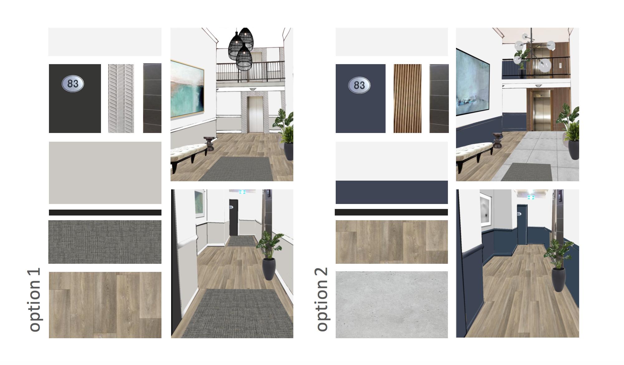 Marnee Fox Multi Residential redesign concept interior