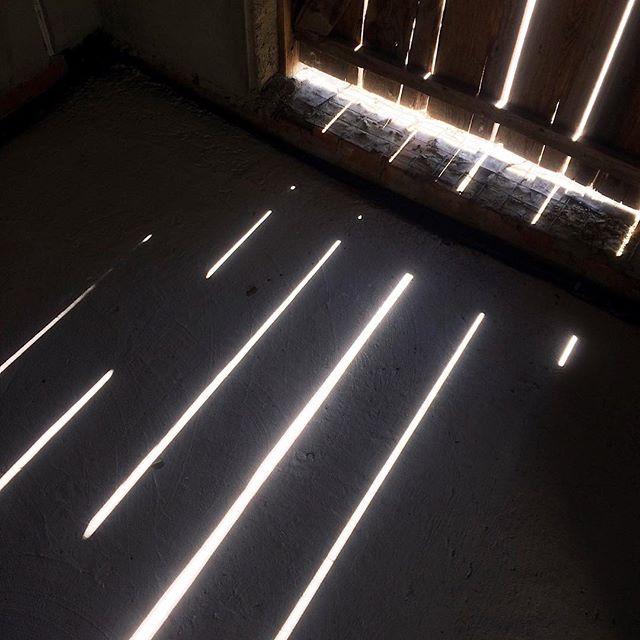 A light in the dark.