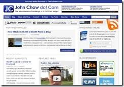 John Chow Dot Com is John Chow's official website