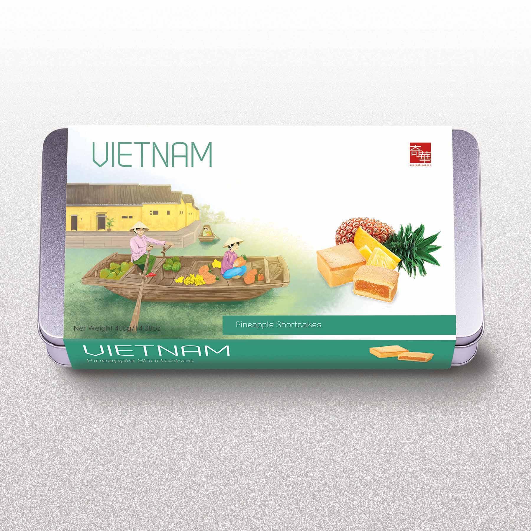 Vietnam Travel Cookie Box for DFS