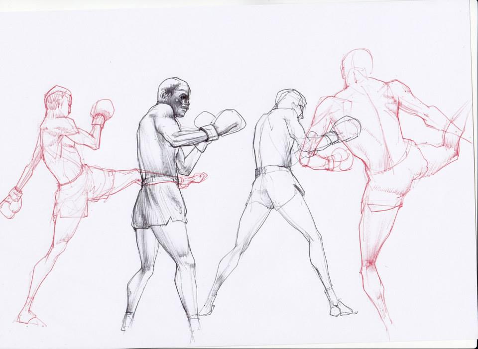 Ballpoint Sketch