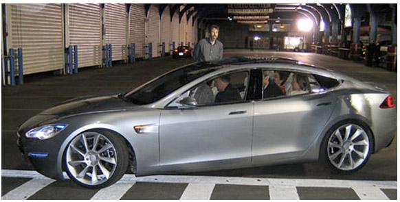 Prototype: Tesla Model S Photo: Jim Motavali for the New York Times Source: NY Times, April 30, 2009