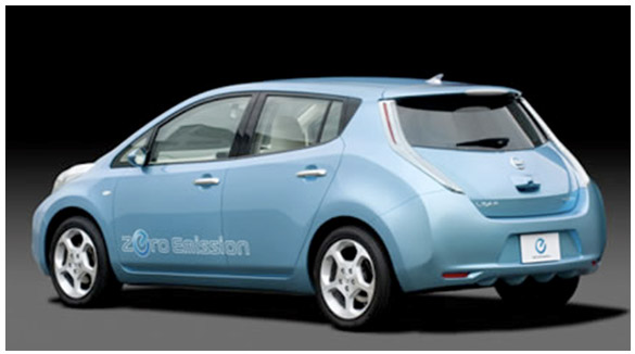 Prototype: Nissan Leaf Source: www.Greenlaunches.com/transport